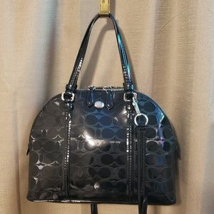Coach domed satchel